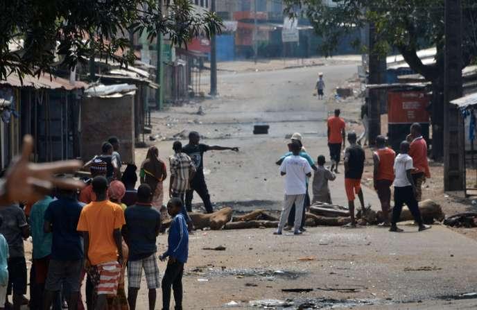 Les manifestations en Guinée ont fait au moins neuf morts