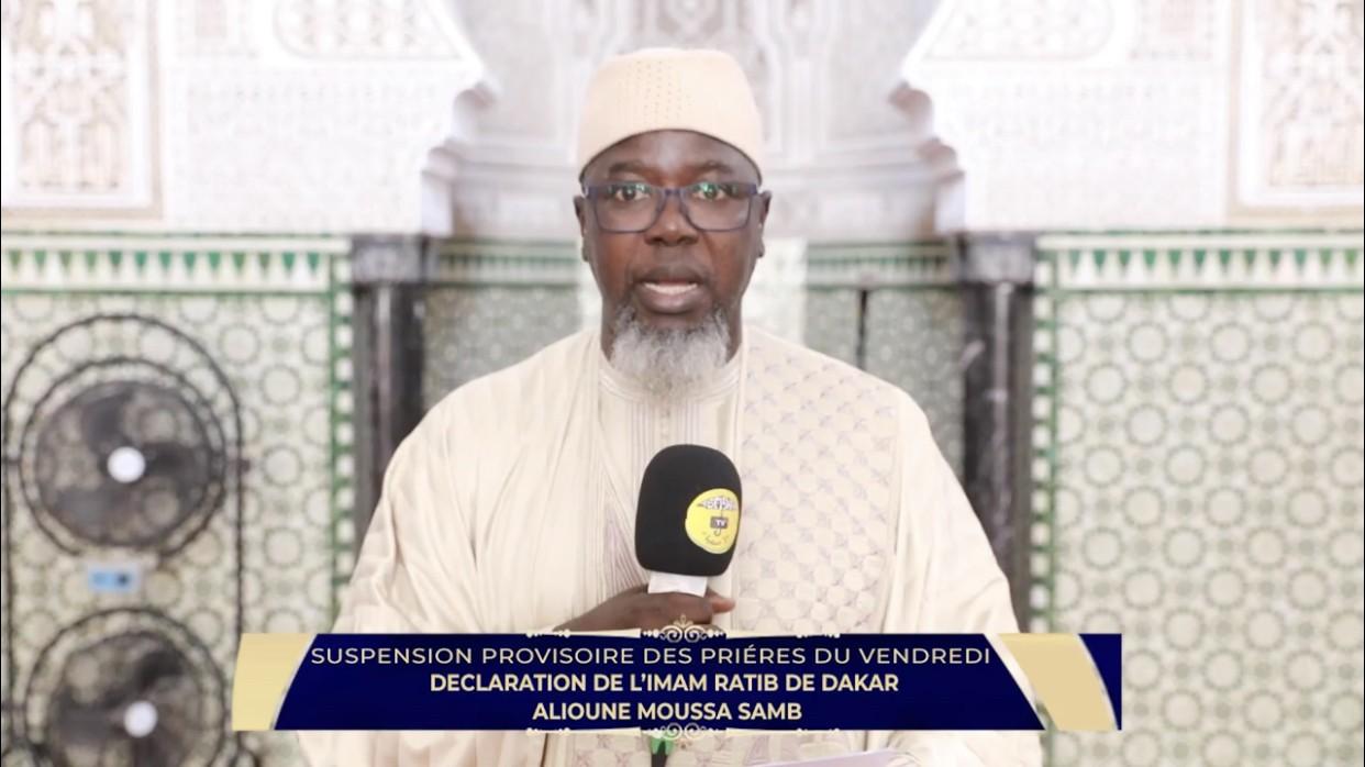 Alioune Moussa Samb, Imam de la grande mosquée de Dakar : « La prière du vendredi est une recommandation divine, donc moi je vais la faire »