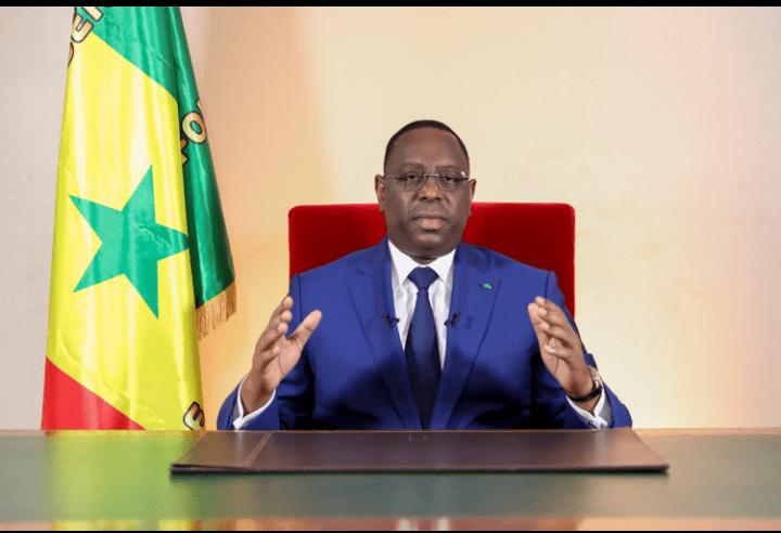 Message de SEM le Président Sall Déclaration d'état d'urgence dans le cadre de la lutte contre la maladie à coronavirus COVID-19
