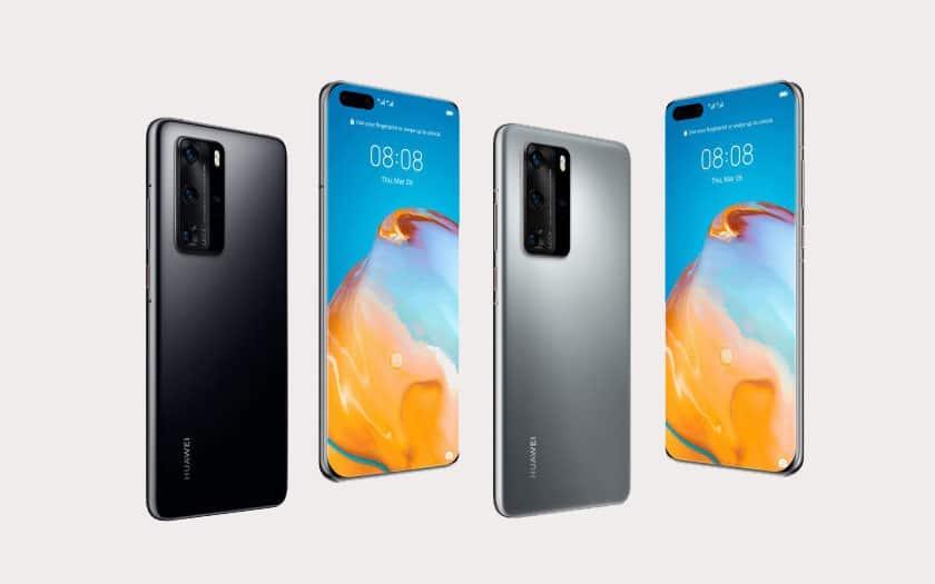 Huawei P40 Pro : nouveaux rendus de son design avec la fiche technique complète