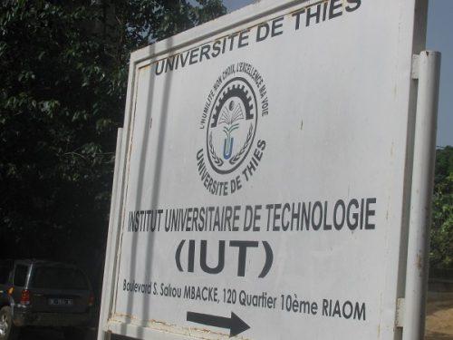 Concours d'entrée à L'Institut Universitaire de Technologie (IUT) de Thiès