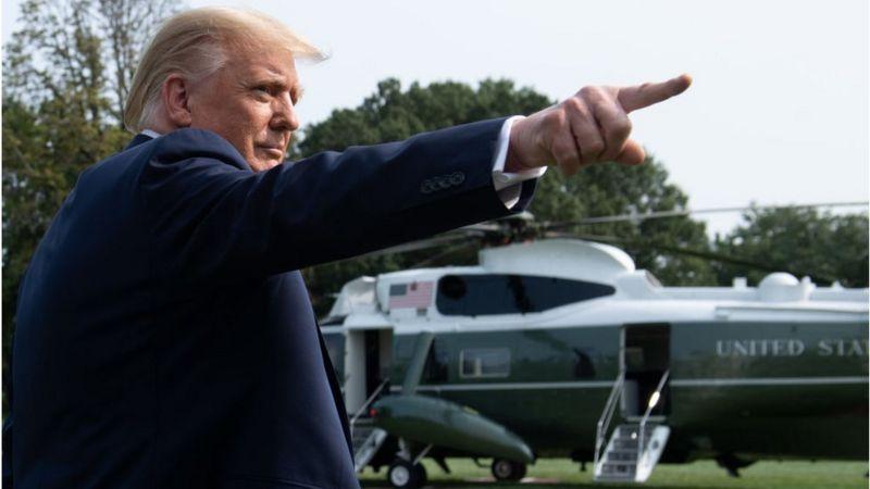Le président Trump est monté dans le même hélicoptère que Hope Hicks mercredi. Hicks a ensuite été testée positive au coronavirus