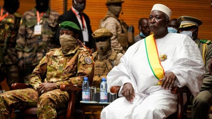 Mali : la liste du Gouvernement de Transition proclamée