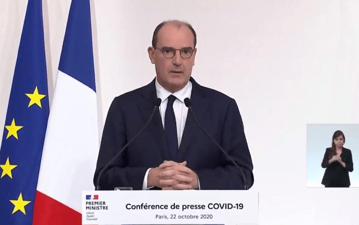 Les 2 tiers des français soumis à un couvre feu d'au moins 6 semaines, le premier ministre prévoit un mois de novembre épouvante