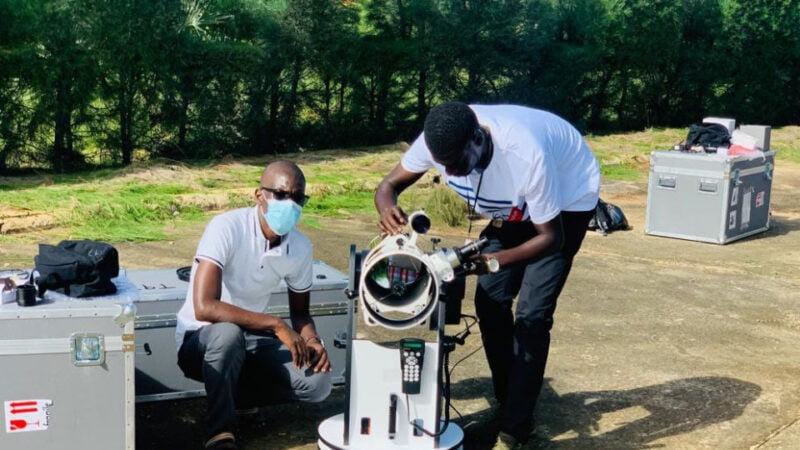 Le Sénégal observe pour la NASA un astéroïde qui sera visité par une sonde spatiale