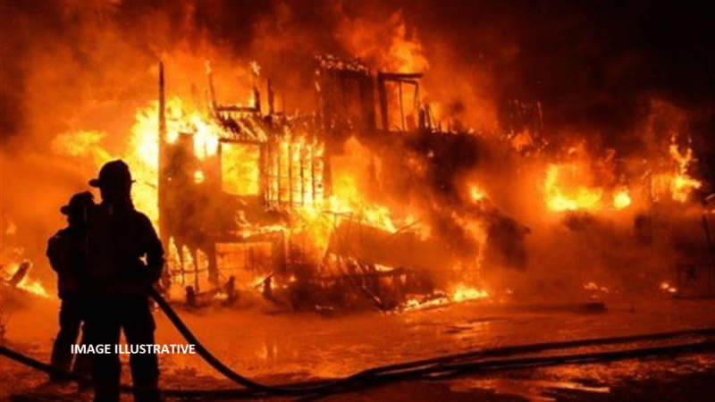 Incendie au marché Ocass de Touba