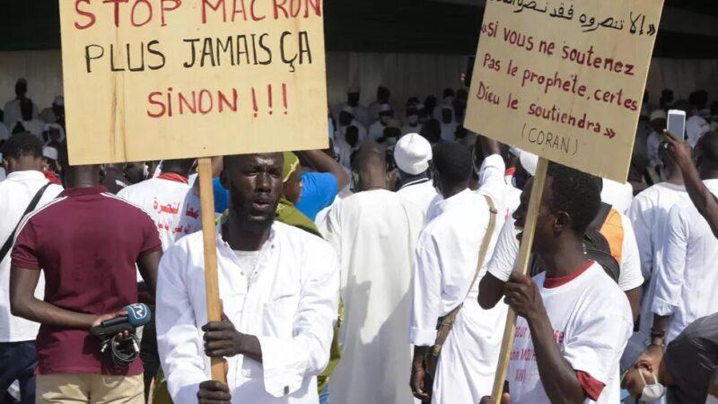 Manifestations contre l'islamophobie à la place de la nation