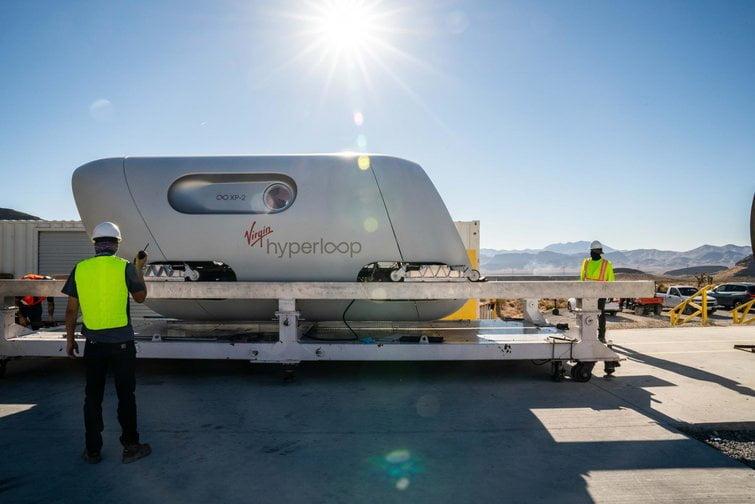 Hyperloop : le train futuriste supersonique vient d'être testé