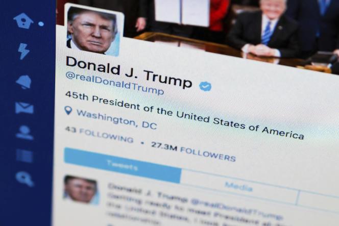 Pays-Bas : se connecter au compte Twitter de Donald Trump n'est pas forcément illégal