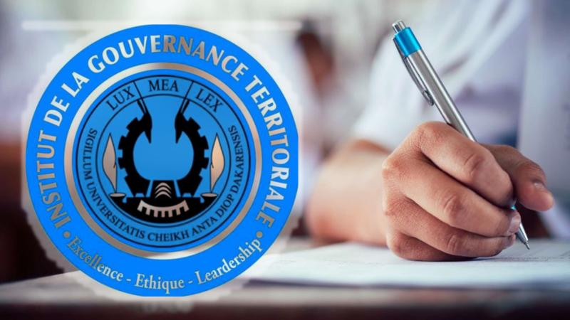 Concours d'entrée à l'institut de la gouvernance territoriale (IGT)