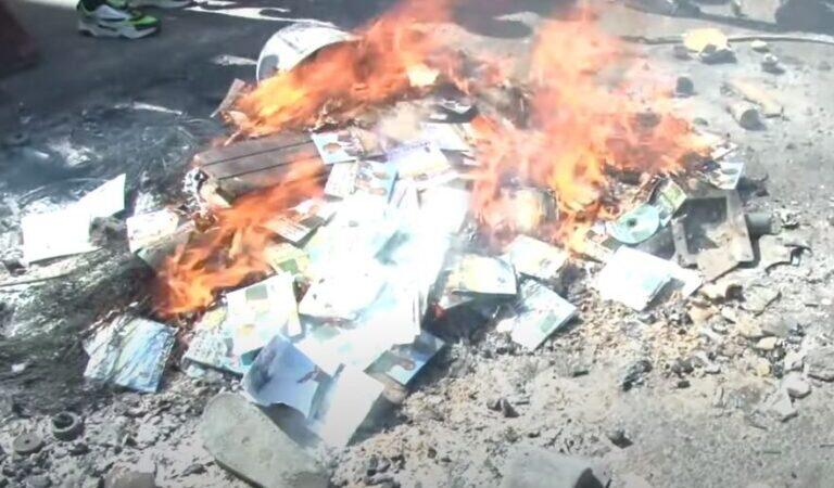 UCAD : Les étudiants brûlent l'album de Mame Goor Jazaka
