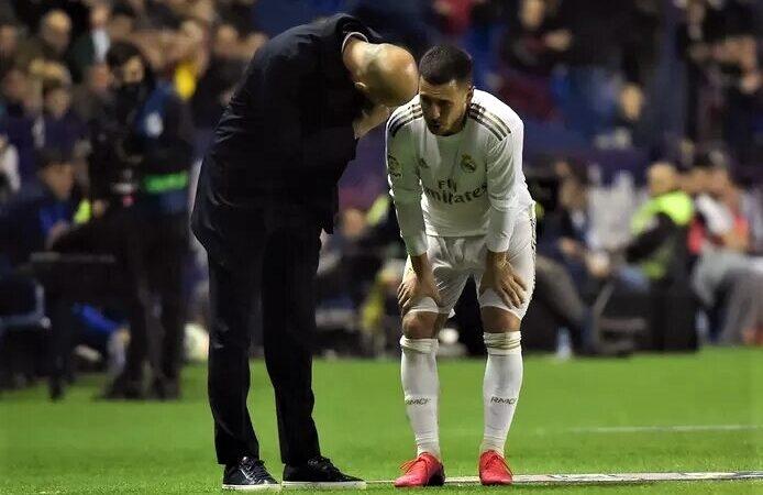 """Zidane sur les blessures à répétition d'Eden Hazard: """"Des moments difficiles à vivre"""""""