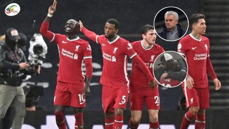 Sadio Mané se réveille, Liverpool écrase Tottenham à l'issue d'un match spectaculaire   Résumé