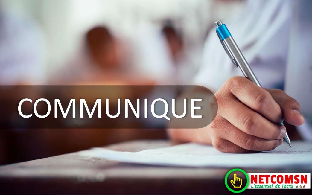 Communiqué de l'Amicale des Etudiants de la FMPO – UCAD suite à la décision du Chef de l'Etat de prendre en charge S.O.D