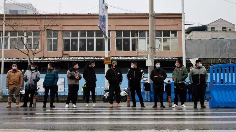 En Chine, les enquêteurs de l'OMS ont visité le marché Huanan à Wuhan