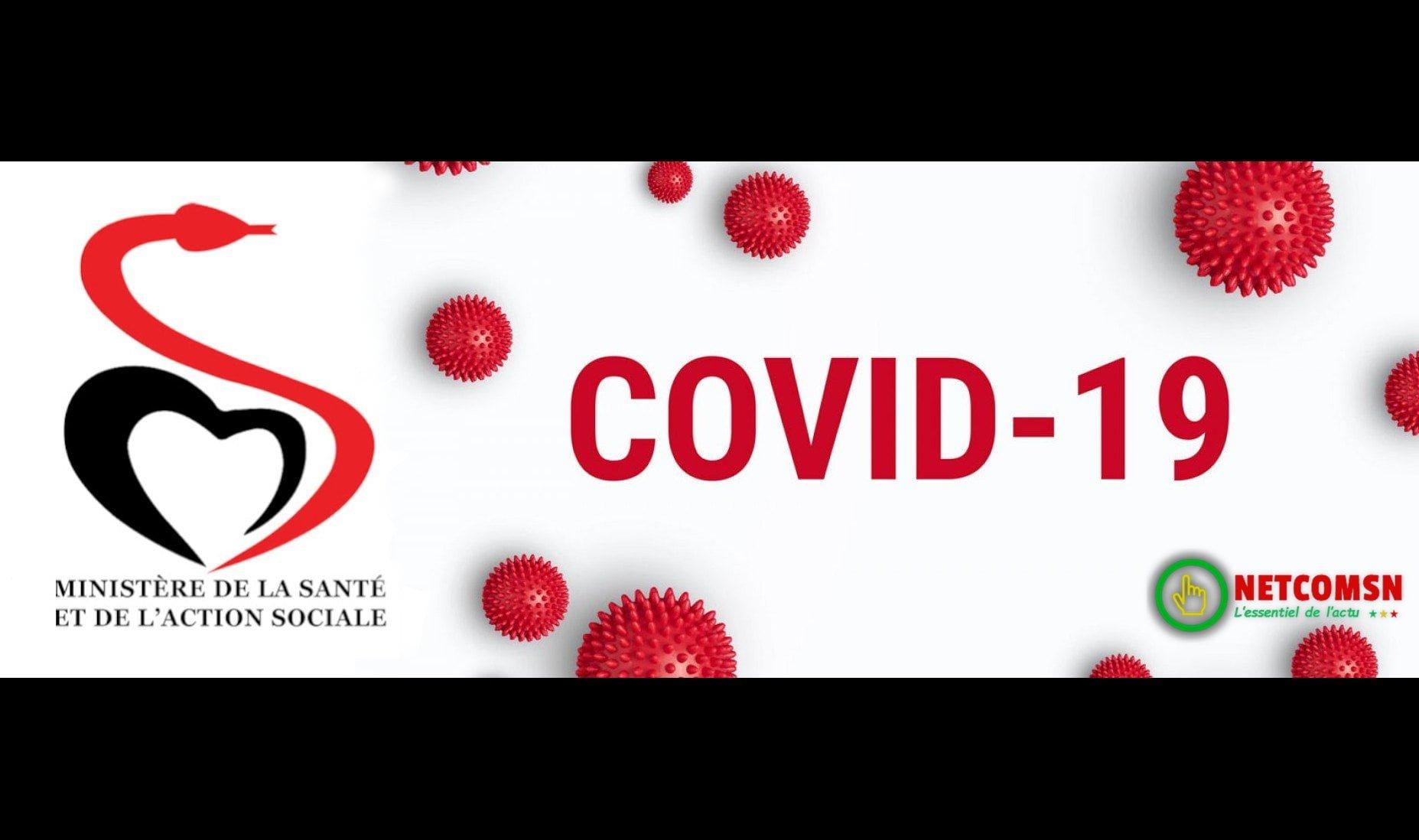 COVID-19 Sénégal : Communiqué 322/17 Jan