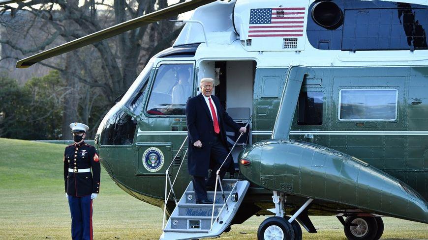 «Je reviendrai d'une manière ou d'une autre»: les dernières paroles de Donald Trump quittant la Maison Blanche (PHOTOS + VIDEOS)
