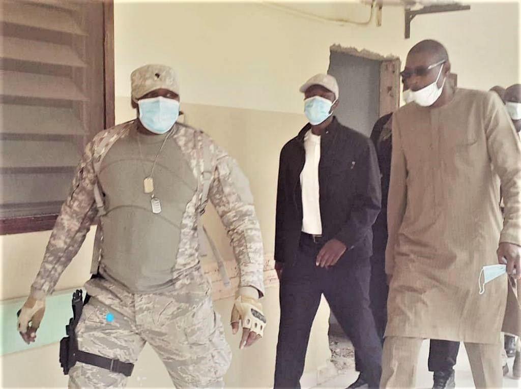 Sonko réserve sa première sortie au militant blessé