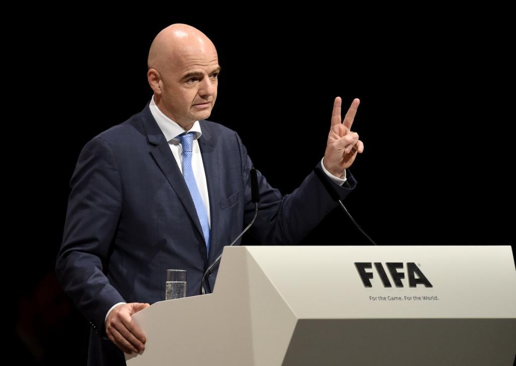 Le président de la FIFA au Sénégal, ce mercredi