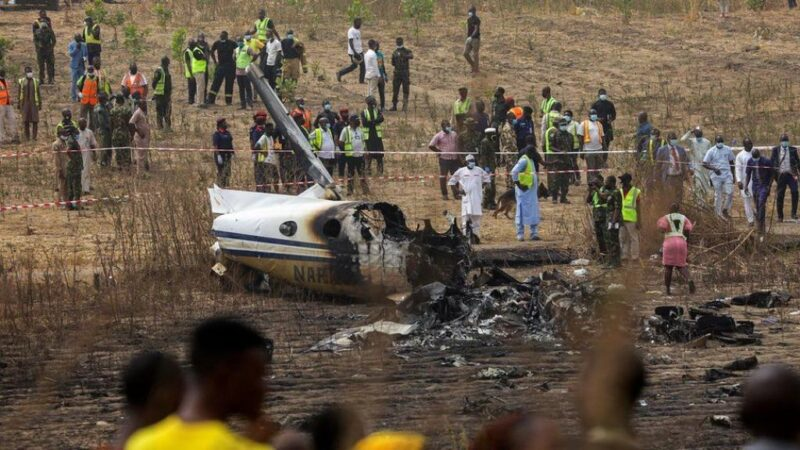 NIGERIA: 7 morts dans le crash d'un avion…