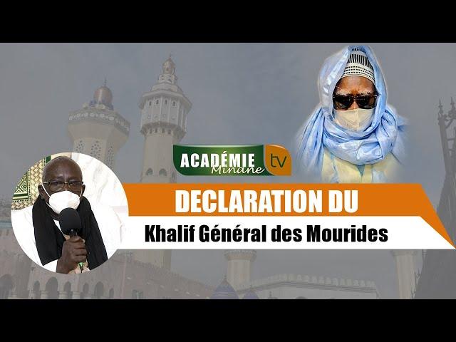 Le message de Serigne Mountakha aux talibés