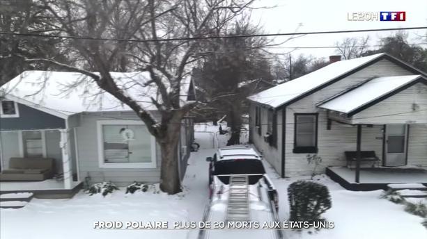 Froid polaire : plus de 20 morts aux États-Unis