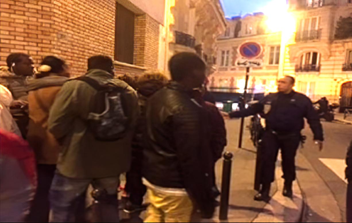 Soutien à Sonko : Manifestation devant l'ambassade du Sénégal en France