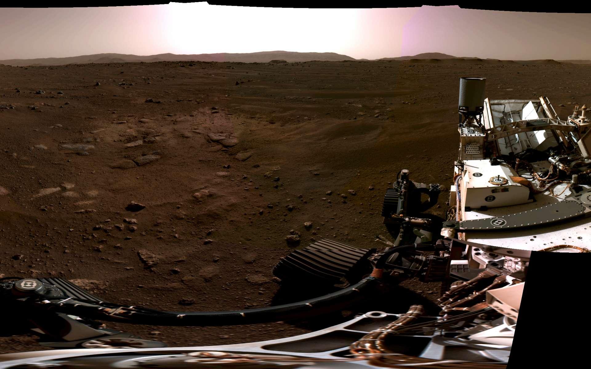 Perseverance : découvrez le tout premier son jamais enregistré sur la planète Mars