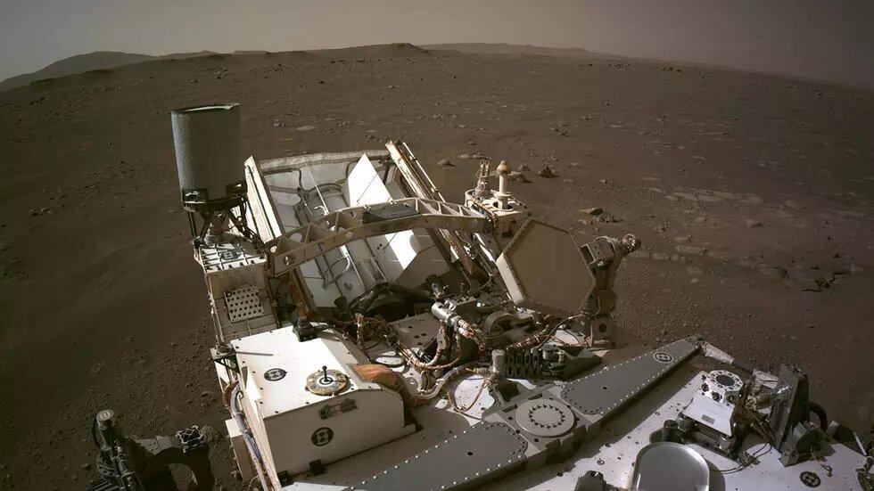 La Nasa publie un panoramique de la planète Mars réalisé par Perseverance