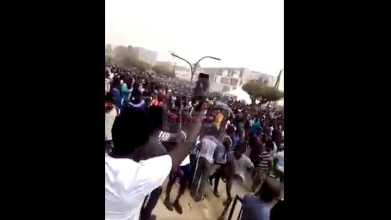 Visite à l'UCAD: La démonstration de force des partisans d'Ousmane Sonko