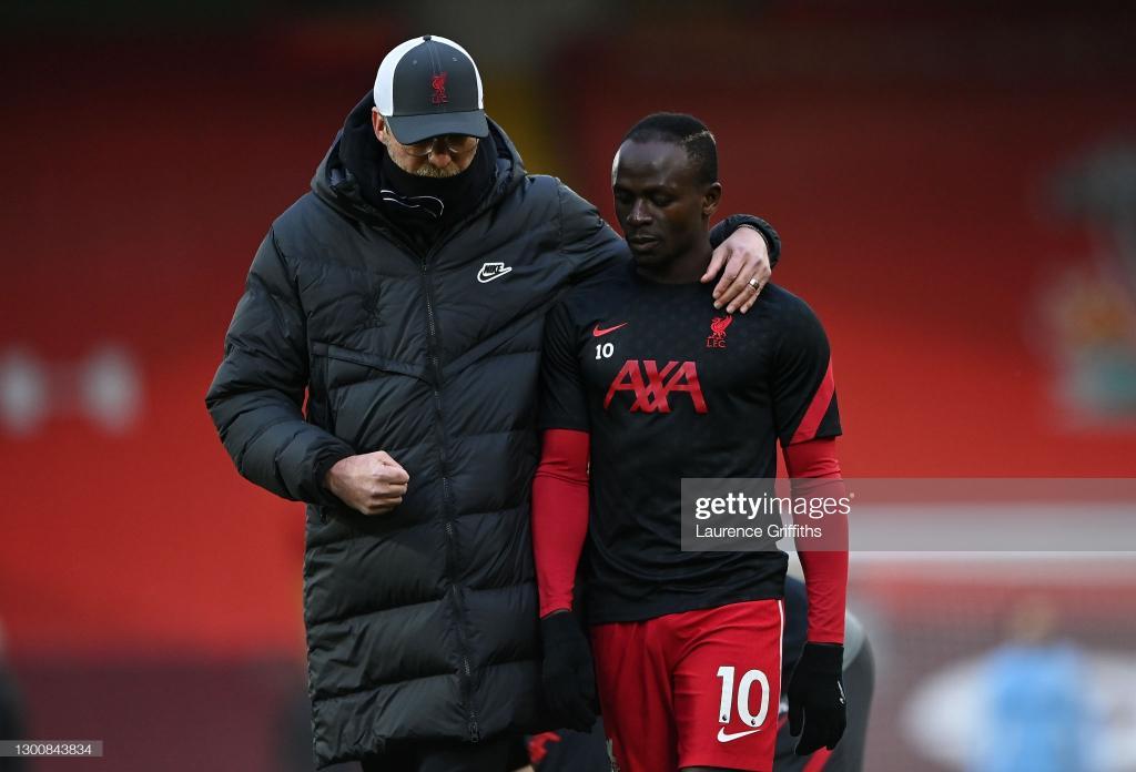 Klopp pourrait empêcher Sadio Mané de rejoindre la sélection du Sénégal