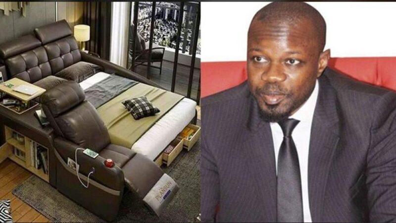Pastef Chine: Des militants offrent un lit de massage à Ousmane Sonko