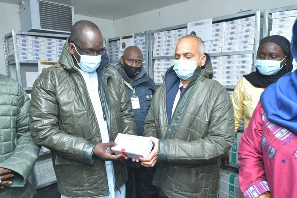 Covid19 : L'Inde offre 25.000 doses de vaccins au Sénégal