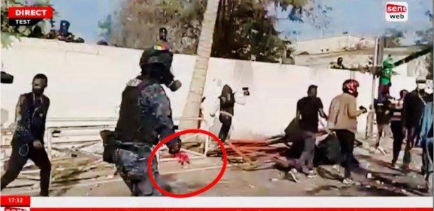 Manifestations à Colobane : Un agent du Gign perd son bras