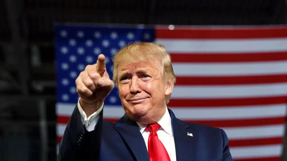 Donald Trump lance un site internet officiel pour ses supporters et vanter son bilan