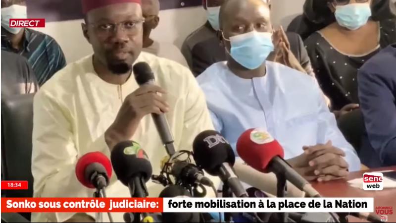 Situation du Sénégal : Ousmane Sonko accuse le président Macky Sall de « haute trahison ».