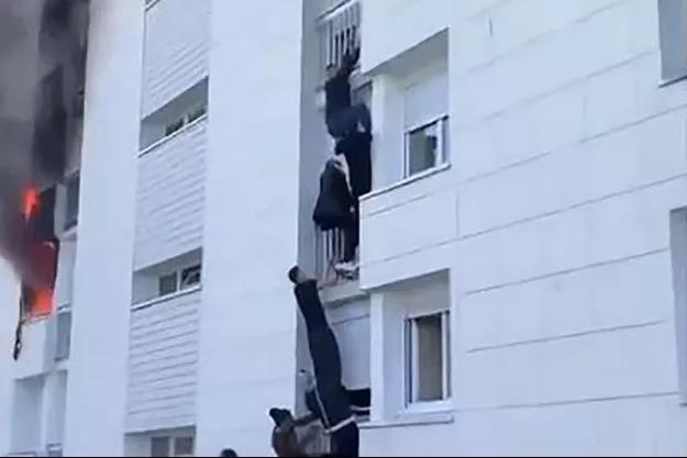 Un acte héroïque : un bébé sauvé des flammes par des jeunes à Nantes