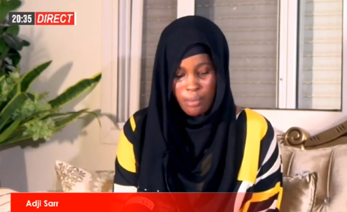 En Direct : Adji Sarr s'adresse aux Sénégalais (Vidéo)