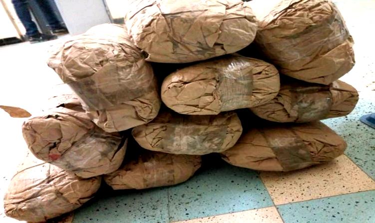 La douane saisit une tonne de drogue estimée à 106 560 000 F CFA