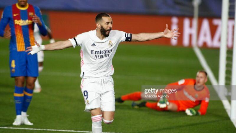 Le Real Madrid dispose du Barça et prend provisoirement la tête