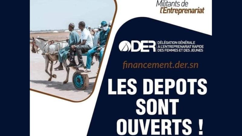 Financement DER : les dépôts sont ouverts (guide procédure d'inscription & dépôt de dossier)