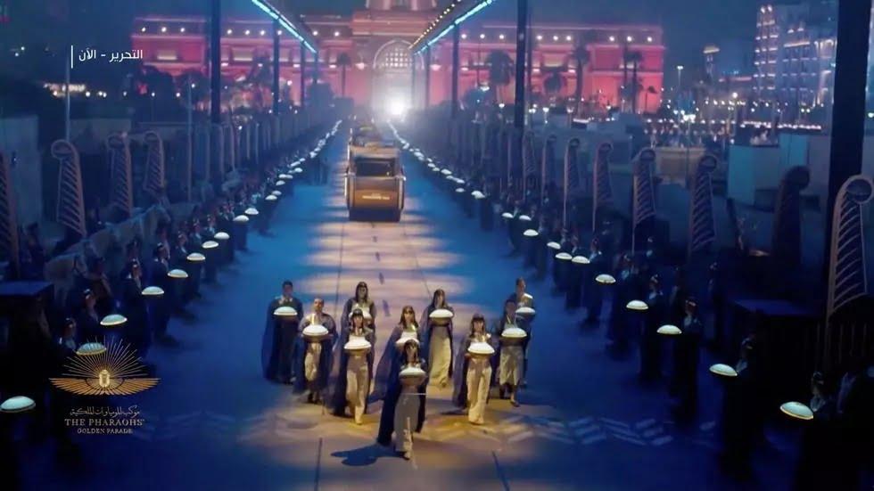 Défilé des pharaons : parade de 22 momies de souverains de l'antiquité au Caire