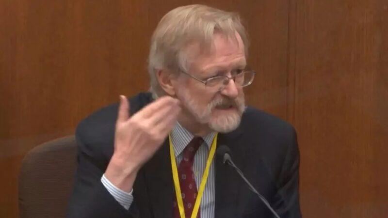 Procès Derek Chauvin aux États-Unis: le témoignage accablant d'un célèbre pneumologue