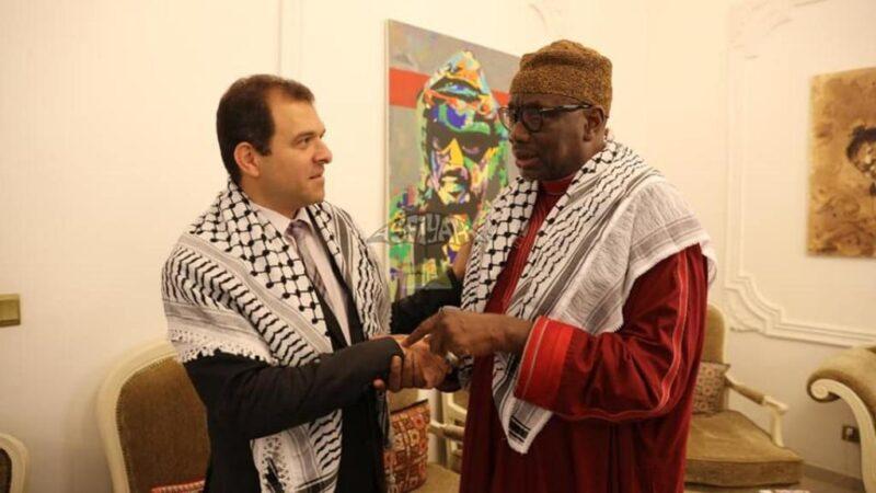 Soutien à la Palestine : Une délégation du khalife général des Tidiane reçue par l'ambassadeur Safwat Ibraghith