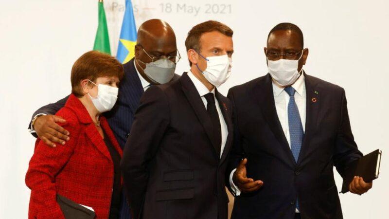Au sommet de Paris, des promesses sanitaires pour l'Afrique, mais pas d'engagement financier