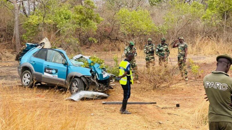 Mort tragique des 3 agents de Léral: La présidence explique, Macky sur les lieux