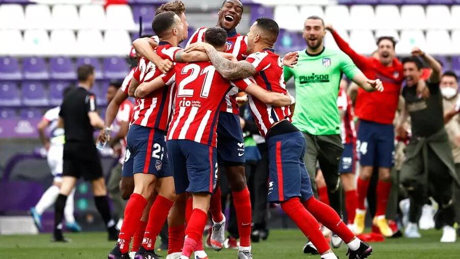 Football: l'Atlético de Madrid sacré champion d'Espagne devant le Real