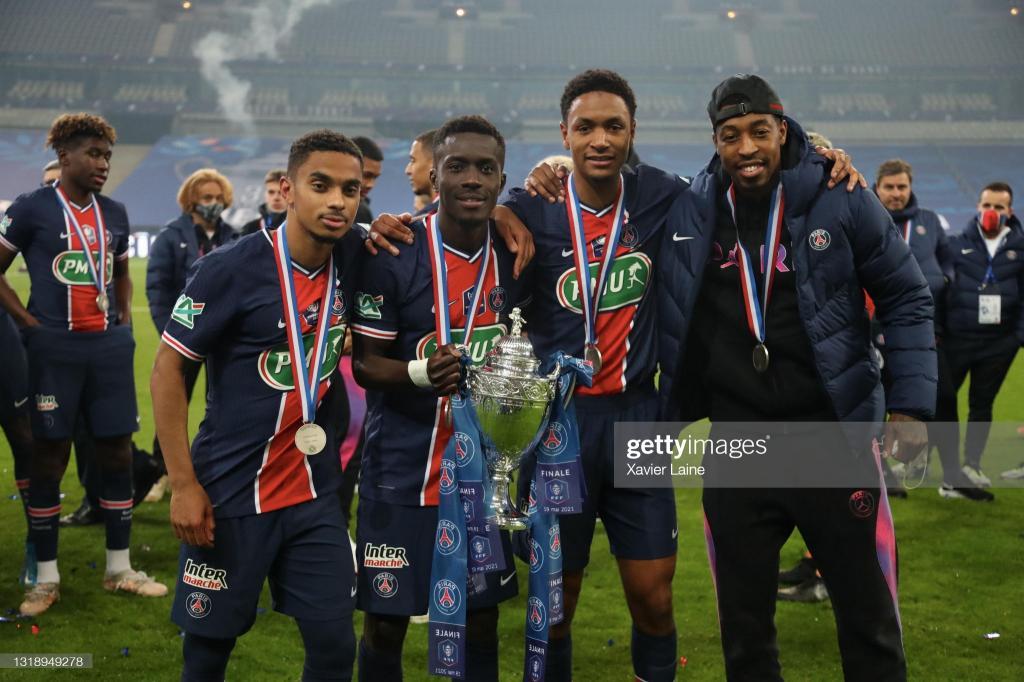 Vainqueurs de la Coupe de France : les notes de Gana Gueye et Abdou Diallo