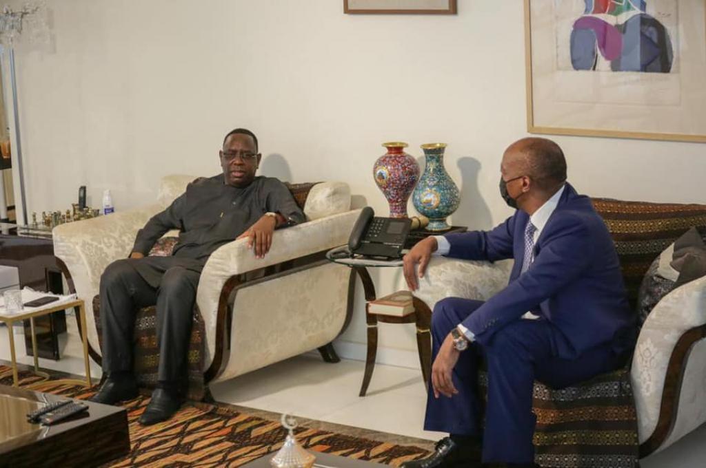 «Motsepé dit à Macky son souhait de voir le Sénégal abriter la Can»