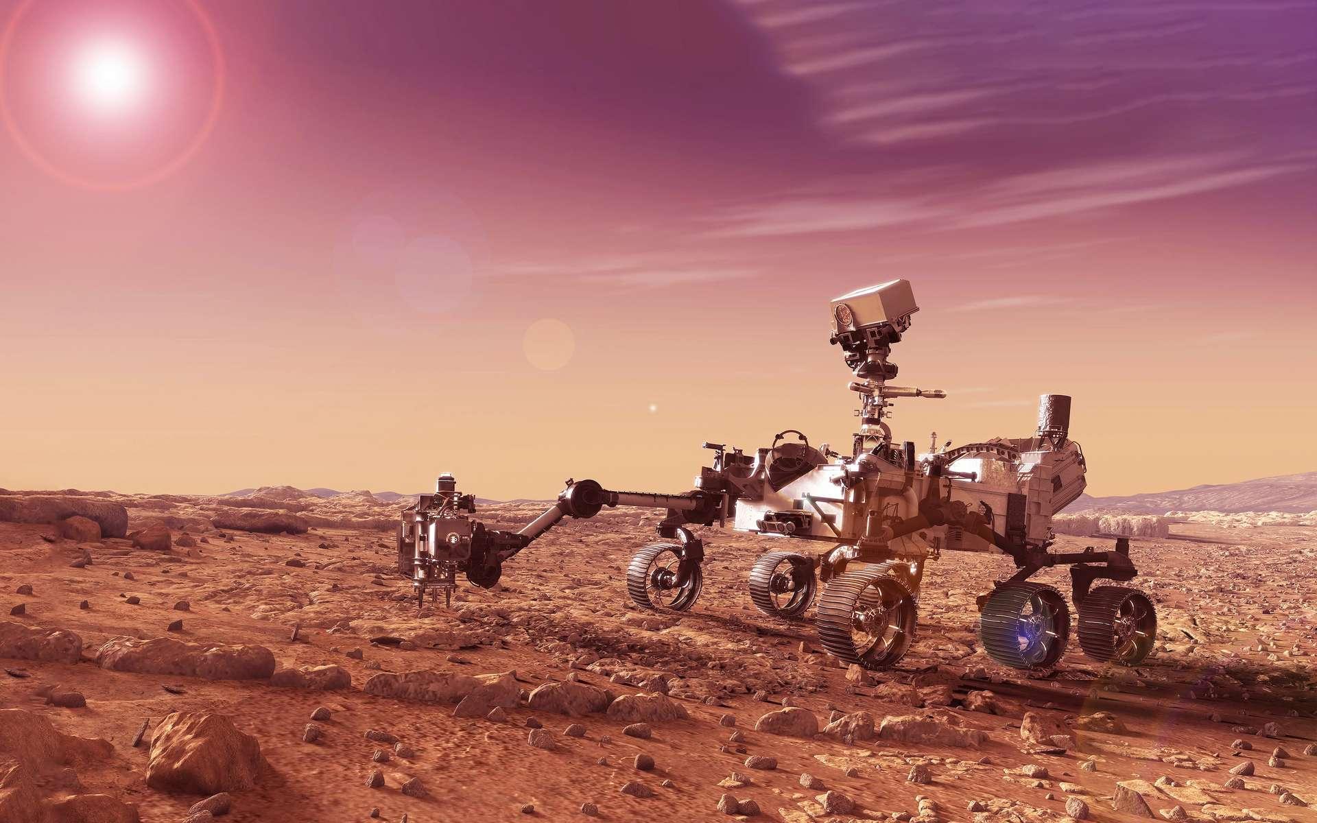 Des champignons sur Mars?